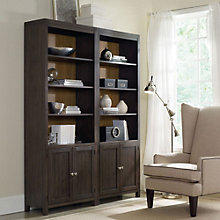 "South Park Two-Tone Bookcase Set - 84""H, HOO-11114"