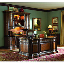 Beladora Traditional Executive Office Set with Chair, 8802626