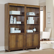 "Darden Five-Shelf Bookcase with Lower Doors - 78""H, HOO-11104"