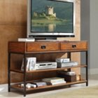 Modern Craftsman Oak Finish TV Stand, HOT-5050-06