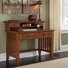 "Mission Style Student Desk with Hutch - 42"", HOT-518-162"