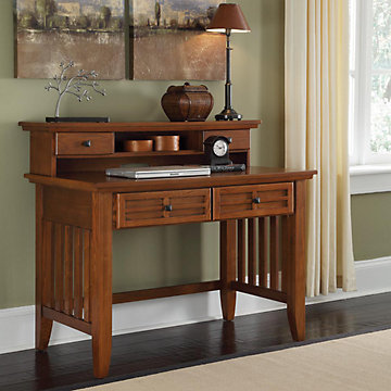 mission style student desk with hutch 42 hot 518 162