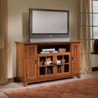 Arts & Crafts Oak Widescreen TV Credenza, HOT-5180-10