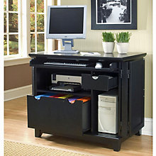Arts and Crafts Ebony Computer Cart, HOT-5181-19