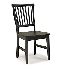 Ebony Finish Dining Chair, HOT-5181-802