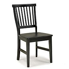 Ebony Finish Dining Chair, HOT-5181-802