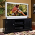 Ebony Finish Widescreen TV Stand, HOT-5531-12