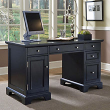 Ebony Finish Computer Desk, 8804098