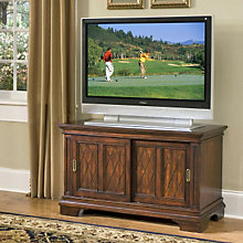 "Windsor Cherry TV Stand - 26""H, HOT-5541-09"
