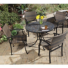 Stone Harbor Five Piece Outdoor Dining Set, HOT-5601-3081