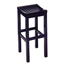 "Backless Black Bar Stool - 29""H Seat, HOT-5641-88"