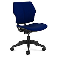 Freedom Armless Ergonomic Task Chair in Fabric, 8803222