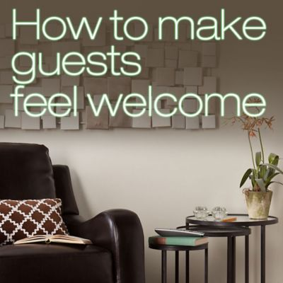How to Make Your Guests Feel Welcome