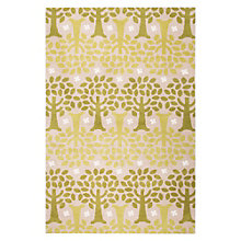 "Iconic By Petit Collage Trees Area Rug 90""W x 114""D, 8805263"