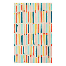 "Iconic By Petit Collage Sticks Area Rug 90""W x 114""D, 8805272"