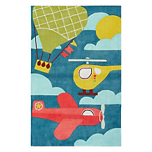"Iconic By Petit Collage By Air Area Rug 90""W x 114""D, 8805274"