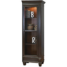 "Hartford Right Facing Half Bookcase - 24.5""W x 75.5""H, 8803153"