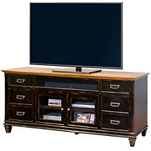 Hartford Two-Tone Storage TV Console, 8803158