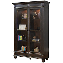 "Hartford Wire Mesh Door Bookcase - 48""W x 78""H, 8803154"