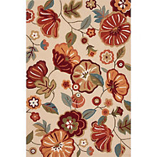 "Blossom Rosewood Area Rug - 90""W x 114""D, 8805075"