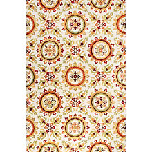 "Blossom Floral Pattern Area Rug - 90""W x 114""D, 8805081"