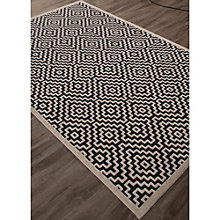 "Fables Geometric Pattern Area Rug - 90""W x 114""D, 8805112"