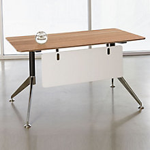 "Modern Flared Leg Compact Writing Desk - 55"" x 27"", JES-10356"