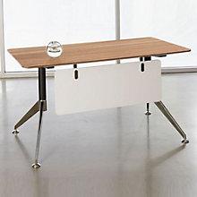 "Modern Flared Leg Compact Writing Desk - 55"" x 27"", JES-10356"