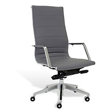 Sophia High Back Executive Chair in Leatherette, JES-10554