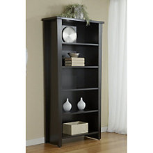 "Five Shelf Modern Bookcase - 75"" H, JES-10625"