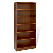 "100 Series Six Shelf Open Bookcase - 72""H, JES-10696"