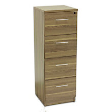 100 Series Four Drawer Vertical File, JES-10703