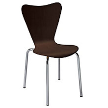 Modern Wood Cafe Chair, KFI-10536