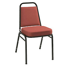 Fabric Stack Chair Black Frame, 8802856