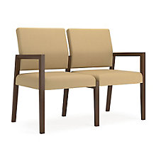 Brooklyn Two Seat Guest Chair in Polyurethane, 8804632