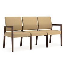 Brooklyn Three Seat Guest Chair in Fabric, 8804637