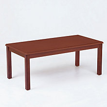 Solid Wood Traditional Coffee Table, LES-D1479T5