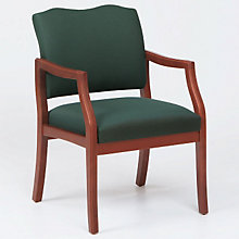 Spencer Wood Frame Guest Chair with Arms, LES-D1951K5