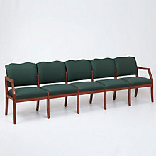 Spencer Five Seat Reception Chair, LES-D5951K5