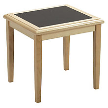 End Table with Laminate Inlay, LES-F1250T5