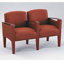Two Seater with Center Arm, LES-F2453K6