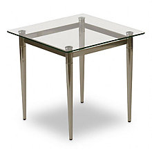 Glass End Table, Q1275T5R