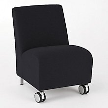 Ravenna Mobile Armless Guest Chair, LES-Q1402C8