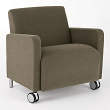 Ravenna Big & Tall Mobile Guest Chair, LES-Q1601C8