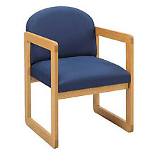 Round Back Guest Chair, LES-C1301G3