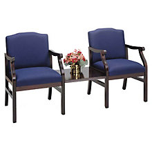 2 Guest Chairs with Center Table, LES-M2211G5
