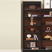 "St. Ives Six Shelf Two-Tone Bookcase - 84""H, 8803077"