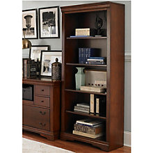 "Brookview Five Shelf Bookcase - 72""H, 8803098"