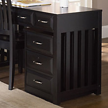 "Hampton Bay Black Mobile Two Drawer File Cabinet - 16""W, LIE-717-HO146"