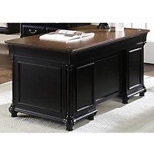 st ives two tone desk 66w 8802021 black office desks